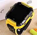 Детские Умные часы с GPS видеозвонком и 4G K22 Желто - черрные, фото 2
