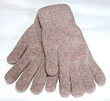Перчатки Корона вязка/махра (7-8,5), бежево-розовые, фото 2