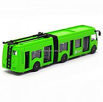 Машинка игровая «TechnoPark» Троллейбус Харьков со световыми и звуковыми эффектами, 18х4х4 см (SB-18-11WB(NO, фото 5