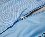 Двоспальний комплект постільної білизни з компаньйоном S363, фото 4