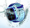 Детские Умные часы с GPS видеозвонком и 4G T3 Сине - голубые, фото 2