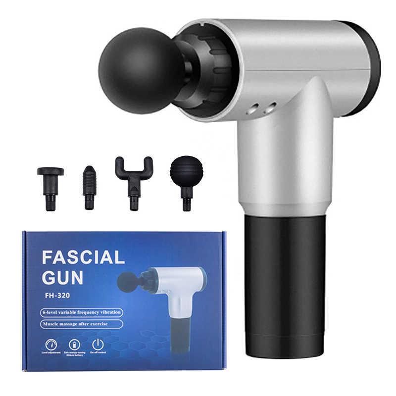 🔥 Вибрационный массажер для тела Fascial Gun CY 801 Health