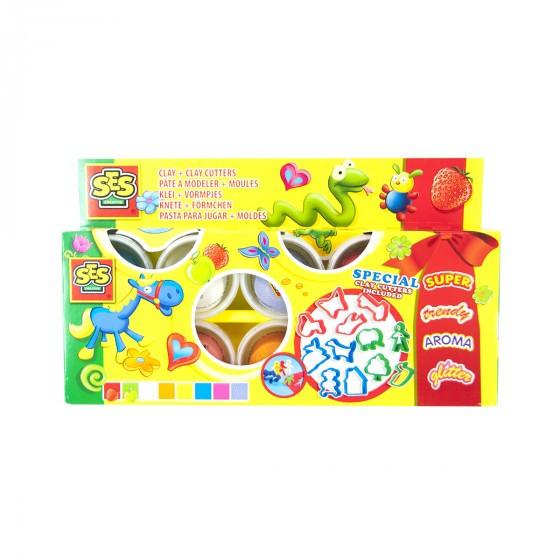 Набор Для Лепки - Праздничный (8 Цветов) Scentos  SES Creative 0498S
