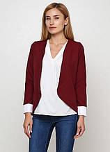 Жіночий піджак Подіум Ergot 10902-BORDO S Бордовий