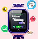 Детские Умные часы с GPS видеозвонком и 4G T3 Розовые, фото 2