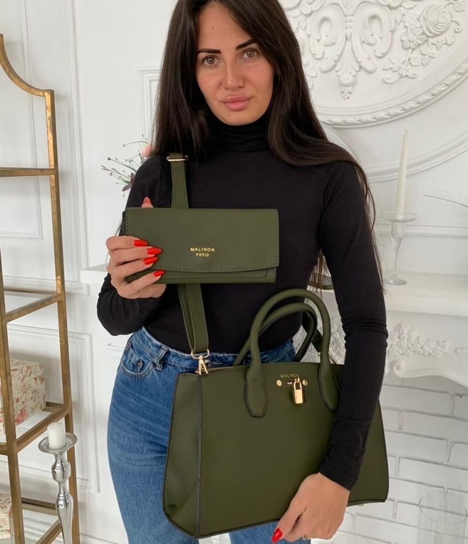 Модна сумка 2 в 1 в кольорах (59-2262)
