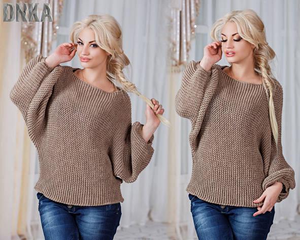 Женский свитер свободный марс , фото 2