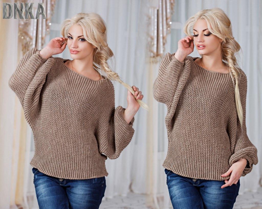 Женский свитер свободный марс