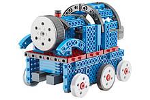 Конструктор STEM электронный HIQ B722 2-в-1 150 деталей сенсорный (машинка, поезд)