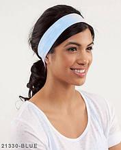 Пов'язка на голову Подіум 21330-BLUE uni Голубий