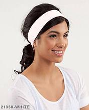 Пов'язка на голову Подіум 21330-WHITE uni Білий
