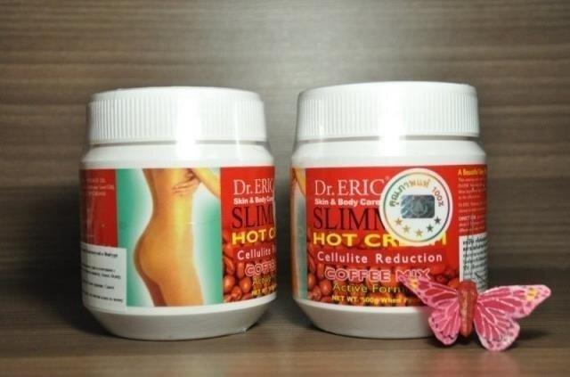 Проф. антицеллюлитный крем с кофе Dr. Eric уничтожает избытки жировых клеток под кожей 500г