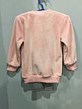 Теплый костюм для девочки 98,128 см, фото 3