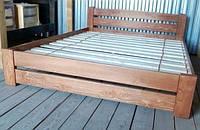 ЭКО Натуральное Дерево Кровать двуспальная деревянная 160х200