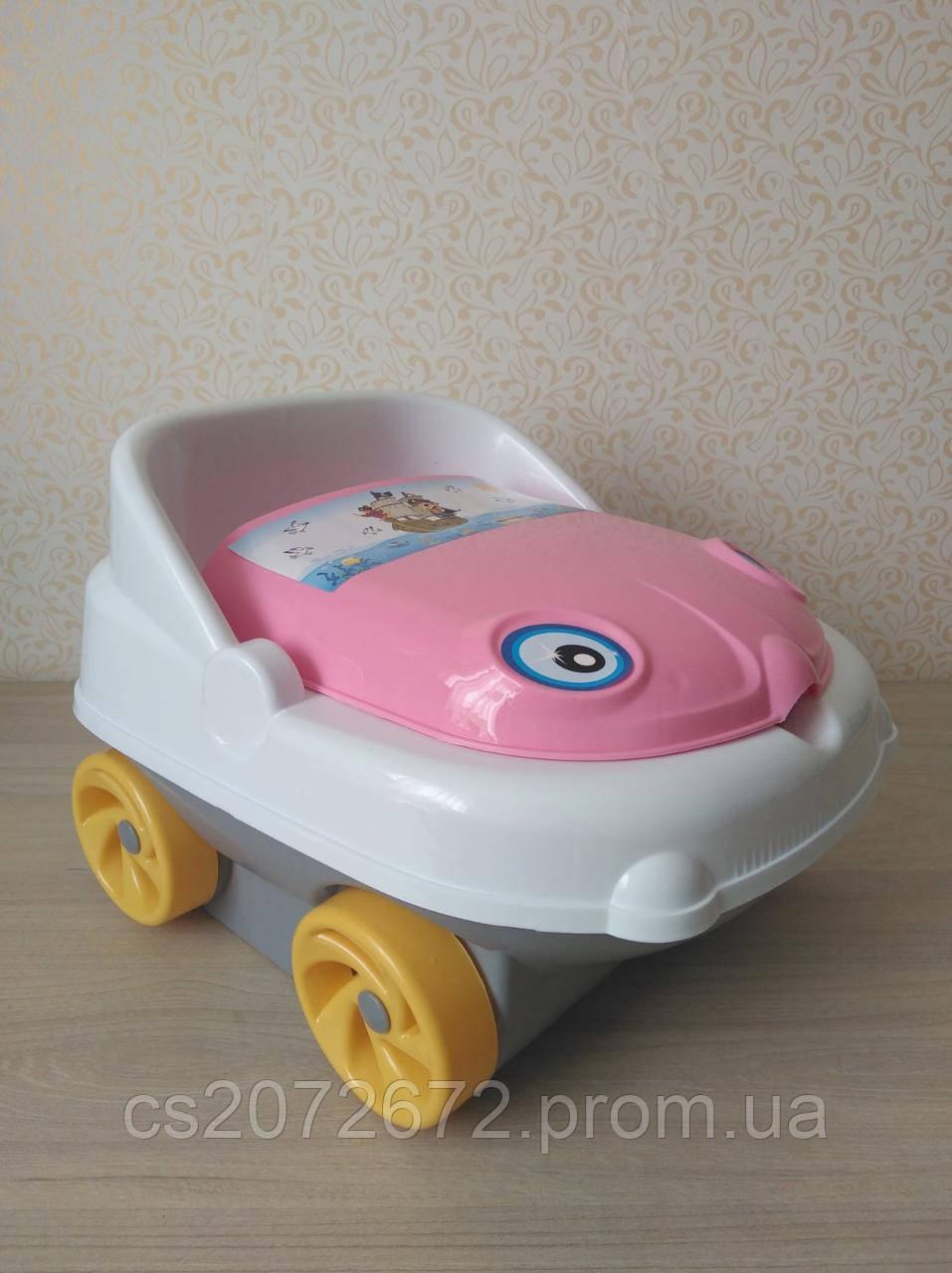Горшок детский музыкальный Машинка IRAK PLASTIK CM-140