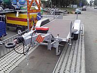 Прицеп площадка.для генератора 3,5м х 1,3м. Тормоза на обе оси!, фото 1