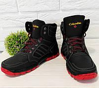 Мужские зимние  ботинки  утепленные львовского производства., фото 1