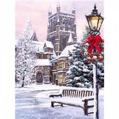 """Картина по номерам """"Зима"""", Подарочная Упаковка, Холст на Деревянном подрамнике, Акриловые Краски, Кисти,"""