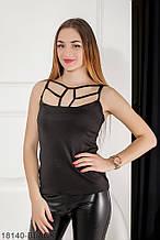 Жіноча майка Подіум Angel 18140-BLACK XS Чорний XL