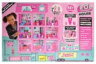 Кукольный домик LOL Surprise Дом, Замок для кукол. ЛОЛ L.O.L. (8366)