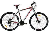 Горный алюминиевый велосипед 29 дюймов Grim черный 21 рама