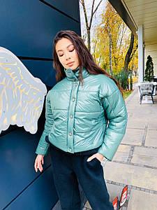 Куртка з плащової тканини в кольорах (VK-36/1)