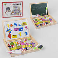 Багатофункціональна дерев'яна розвиваюча іграшка Дошка MD 0694-1