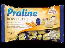 Шоколадные конфеты Praline Doppiolatte с пралине Crispo, 1 кг