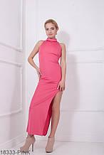 Жіноче плаття Подіум Desire 18333-PINK XS Малиновий