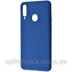 WAVE Colorful Case (TPU) Samsung Galaxy A20s (A207F) blue
