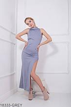 Жіноче плаття Подіум Desire 18333-GREY XS Сірий XL