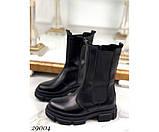 Ботинки высокие c резинкой, фото 3