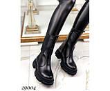 Ботинки высокие c резинкой, фото 4