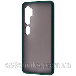 Matte Color Case (TPU) Xiaomi Mi Note 10 green