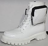 Ботинки высокие женские зимние кожаные от производителя модель КИС50-1, фото 2