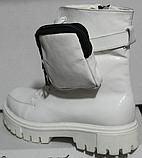 Ботинки высокие женские зимние кожаные от производителя модель КИС50-1, фото 6