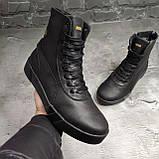 Мужские зимние ботинки Puma OS163 черные, фото 5