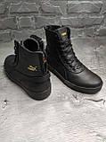 Мужские зимние ботинки Puma OS163 черные, фото 2