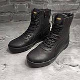 Мужские зимние ботинки Puma OS163 черные, фото 6