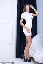 Жіноче плаття Подіум Myurus 10029-WHITE S Білий L
