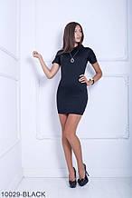 Жіноче плаття Подіум Myurus 10029-BLACK S Чорний