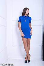 Жіноче плаття Подіум Myurus 10029-BLUE S Синій XXL