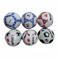 Мяч футбольный, размер 5, 300гр, 2-х слойный, 32 панели, глянц., в пак. 22см