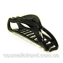 Заколка-краб вузька чорна 128049 (Франція), фото 2