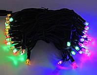 "Гірлянда новорічна вулична ""Нитка"" 120 LED 10м мультик, фото 1"