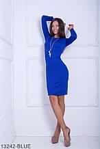 Жіноче плаття Подіум Marigold 13242-BLUE S Синій XXL