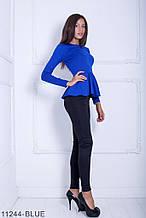 Жіноча кофта Fuller' Подіумs 11244-BLUE S Синій XXL