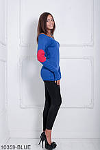 Жіноча кофта Подіум Ciderage 10359-BLUE S Синій XXL