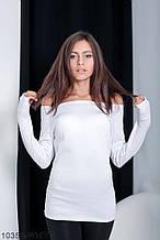 Жіноча кофта Подіум Ciderage 10359-WHITE S Білий XL