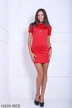 Жіноче плаття Подіум Myurus 10029-RED S Червоний